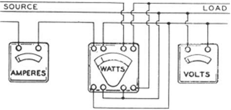 power factor meter wiring diagram three wire power