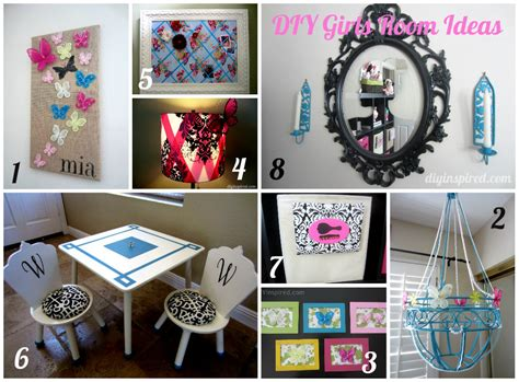 diy projects for your room 8 diy girls room ideas diy inspired