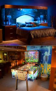 Aquarium Bedroom Set Awesome Bed With An Overhead Aquarium Might Be The Coolest