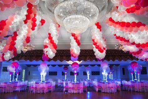 Balloon Decorations by Balloon Artistry Bat Bar Mitzvah Balloons