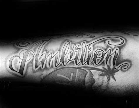 ambition tattoo design 30 ambition design ideas for word ink ideas