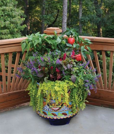 Flower Pot Garden Ideas Patio Garden Ideas Containers Photograph Flower Pots Are O
