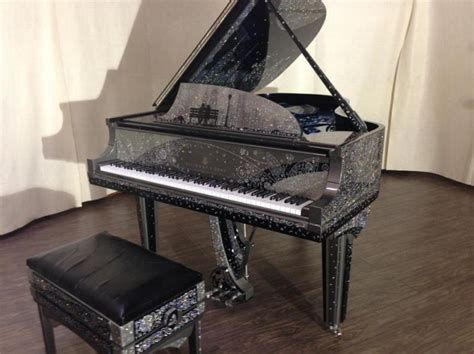 Handmade Pianos - the millionaire handmade custom piano new york serenade