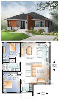 Modern Bungalow House Designs And Floor Plans Home Design Contemporary Modern House Plan Modern Windows
