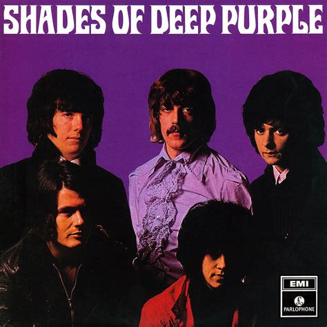 Shades Of Deep Purple | deep purple lp cover art