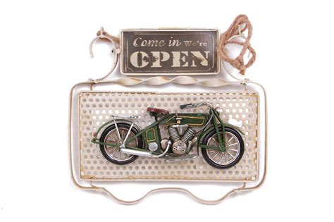 dekoratif metal kapi yazisi motosikletli mnkhomecom