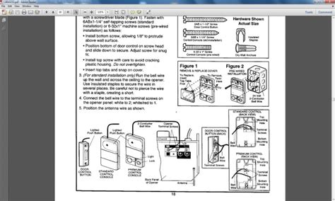 genie garage door opener wiring diagram wiring