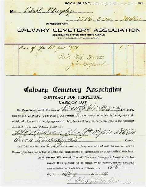 cemetery deeds forms pictures to pin on pinsdaddy