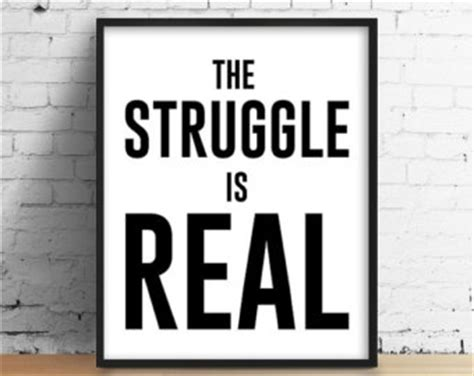 the struggle is reel books the struggle etsy
