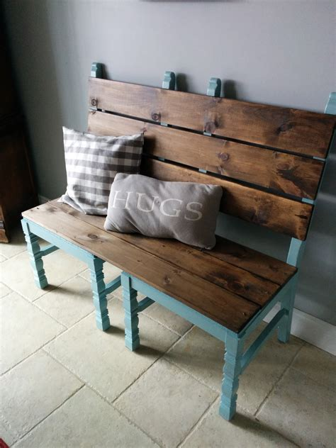 repurposed chairs that will widen your eyes in terms of usefulness and style bench room and