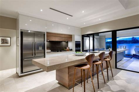 Contemporary Kitchens Awesome Ideas Mod 232 Le De Cuisine Moderne Avec Des Touches De Couleurs Vibrantes