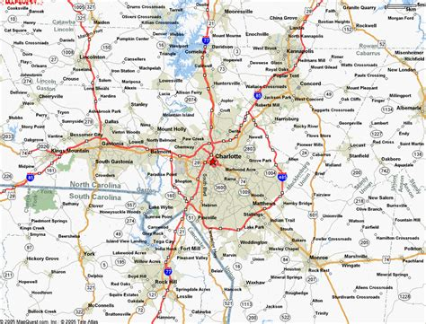 map of nc and surrounding area metro area map lifestyle