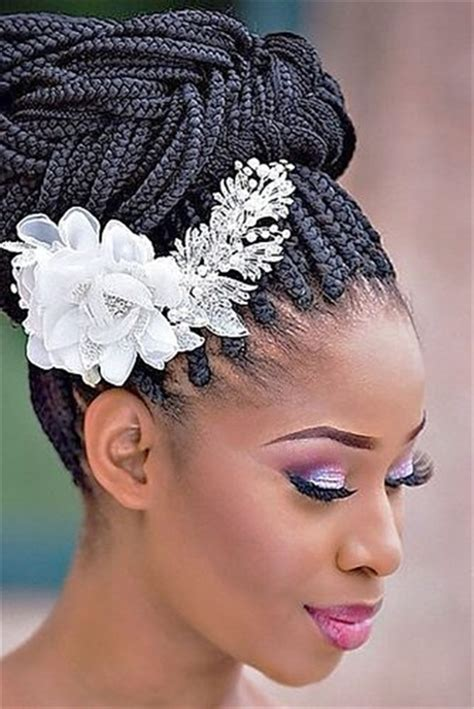 Wedding Hairstyles For Black Brides by 20 Wedding Updo Hairstyles For Black Brides Page 2