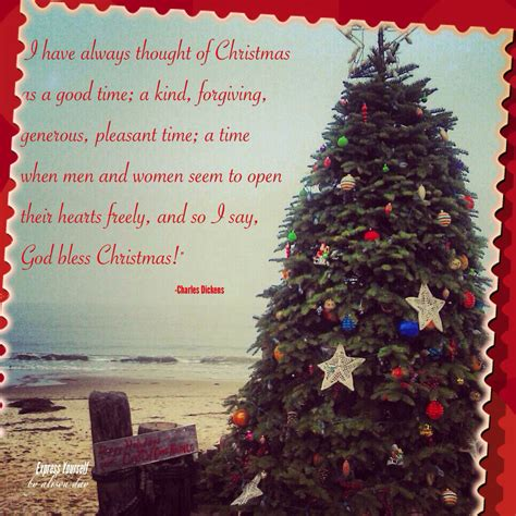thought  christmas   good time  kind forgiving generous pleasant time