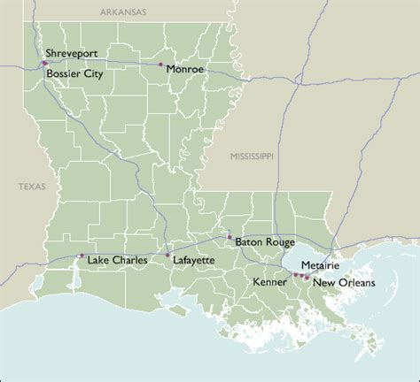 louisiana map by zip code city zip code maps of louisiana