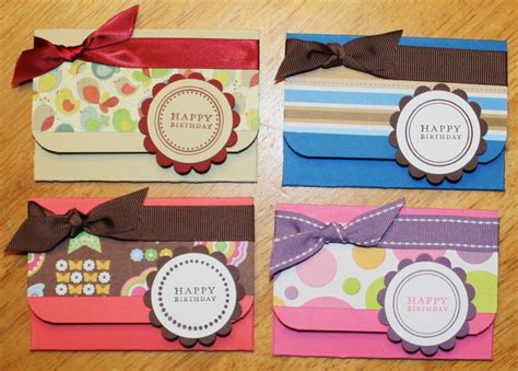how to make gift card holders creative smiles gift card holders tutorial version 2