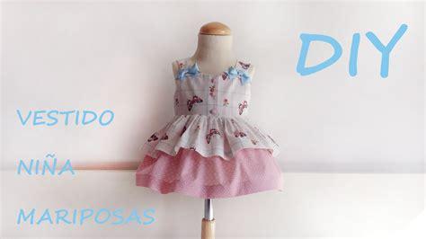 como hacer un vestido de invierno para nena de 4ao realiza un vestido ni 241 a de mariposas paso a paso en