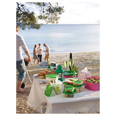 Ikea Pruta 17 Set pruta food container set of 17 transparent green ikea