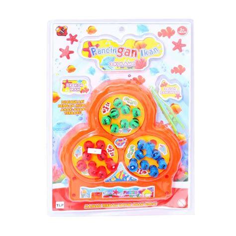 Set 3in1 Jok Mobil Doraemon jual mainan pancing ikan mainan anak perempuan