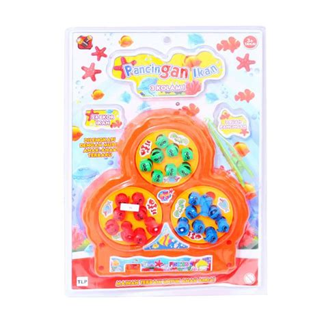 Froggy Set Kaosjumper Kodok jual mainan pancing ikan mainan anak perempuan