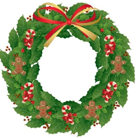 printable christmas wreath pictures special christmas cards hubpages