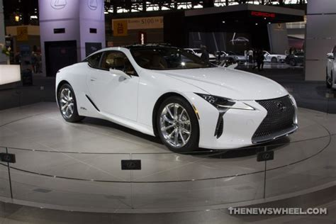 white lexus 2018 2017 chicago auto show photo gallery see the cars lexus