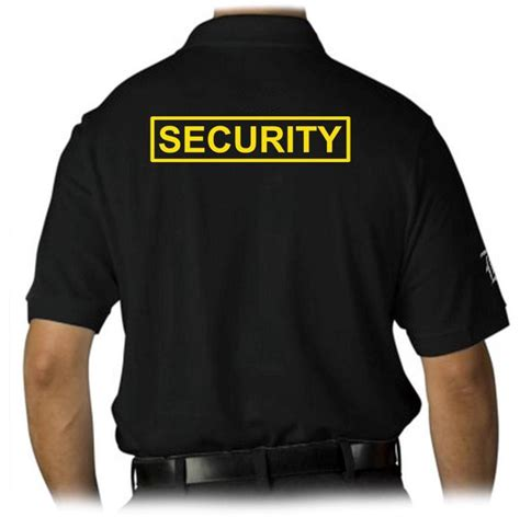 tshirt security1 mens printed security staff mma