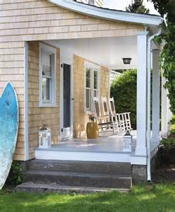 cottage front porch rockers and board porches