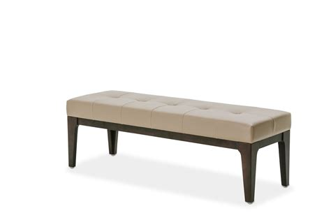 bench beds aico 21 cosmopolitan taupe bed bench
