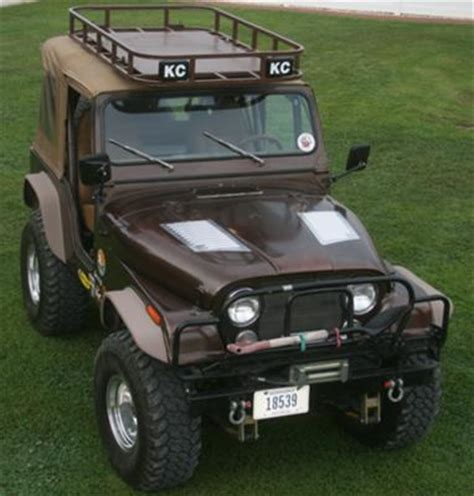 jeep cj hood the hood vents tell me he really does take it off road