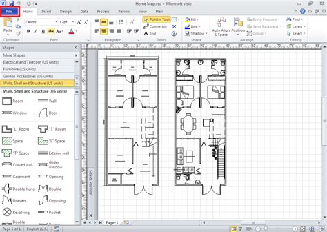 ms visio 2010 how to work with files in backstage view in microsoft