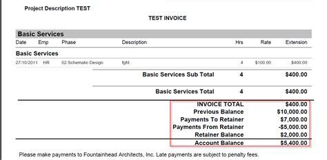 monthly retainer agreement template retainer invoice sle rabitah net