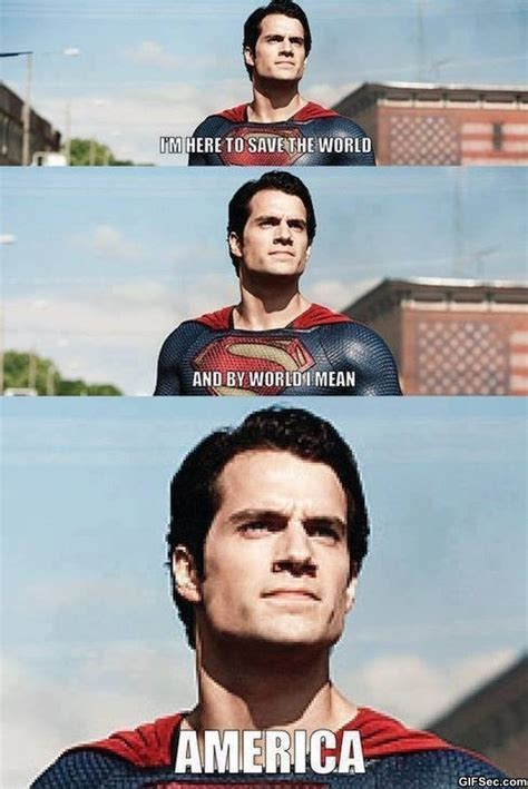 Super Man Meme - murica superman meme funny pictures