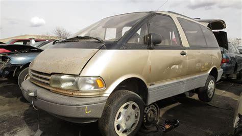how do cars engines work 1996 toyota previa engine control junkyard find 1992 toyota previa all trac