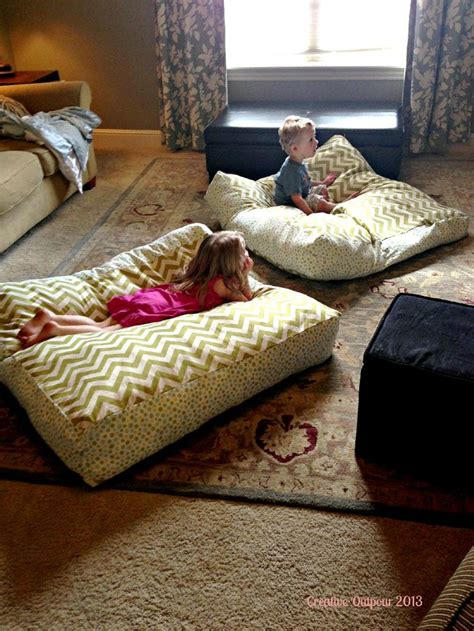 giant pillow bed 25 best ideas about large floor pillows on pinterest