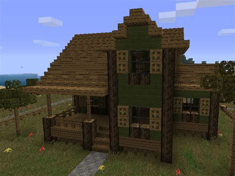 Farm House Minecraft | farmhouse 2 minecraft project