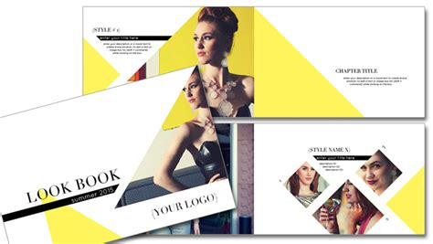 layout look book 2 affordable fashion lookbook design templates