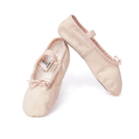 sansha canvas sole ballet shoe