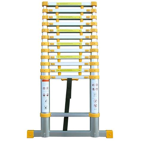 Telescoping L Changer by Telescopic Ladder With Stabiliser Ladders4sale