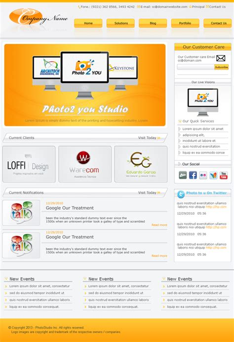 free templates fresh free psd website templates freebies graphic