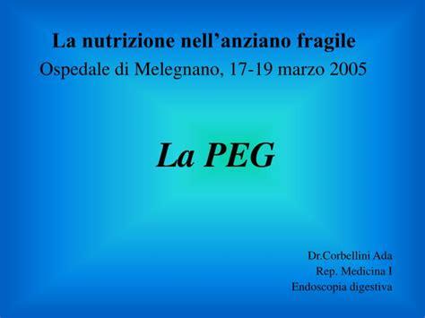 alimentazione peg ppt la peg powerpoint presentation id 3832332