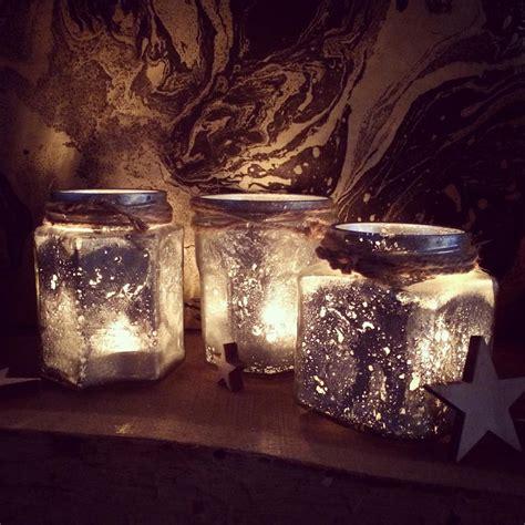 mercury glass tealight holders craft project sewyeah