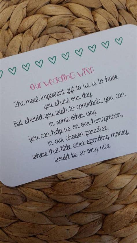 Best 25  Wedding gift poem ideas on Pinterest   Wedding