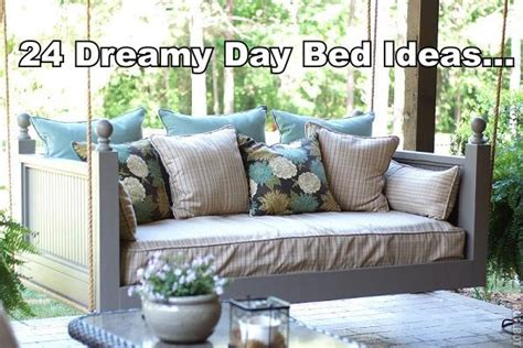 porch swing days 24 dreamy day bed ideas diy cozy home