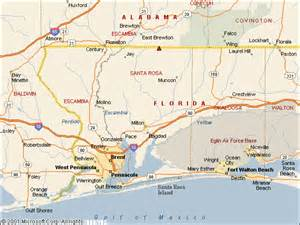 map of santa rosa florida usgs water resources of the united states