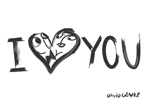 imagenes de i love you edgar dibujo i love you