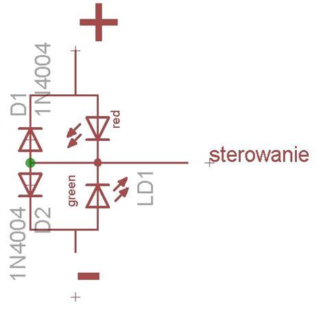 dioda led jak działa dioda led dwukolorowa czy istnieje własnie taka nietypowa