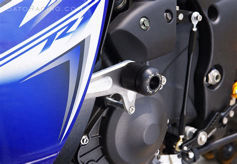 Frame Slider Yamaha R25 Nui Racing sato racing yamaha yzf r1 09 14 frame sliders quot no cut quot version