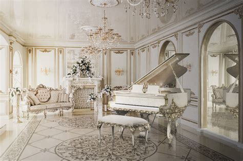 interior design antique piano shop