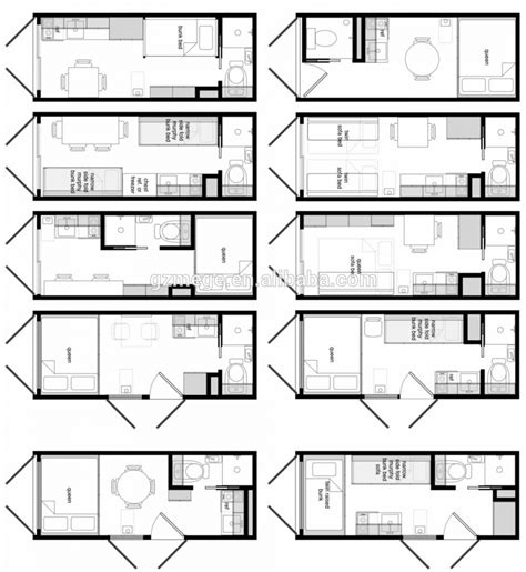 40 ft container house plans shipping container layout container house design